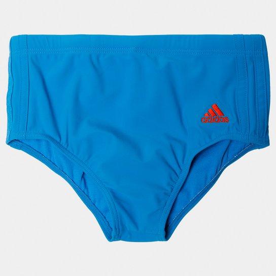 4f203433aa0 Sunga Adidas 3S Larga Infantil - Compre Agora