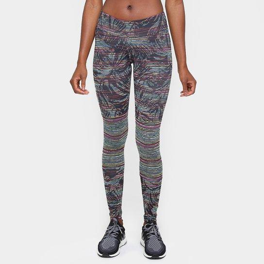 Calça Legging Adidas Salinas Feminina - Azul - Compre Agora  395682495a49e