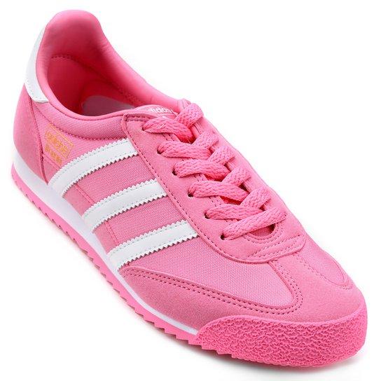 8af28d6de2e Tênis Adidas Dragon Og J Infantil - Rosa   Netshoes