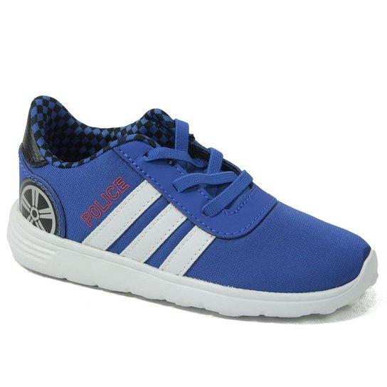2950c54eddd Tênis Adidas Lite Racer Police - Azul - Compre Agora