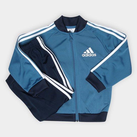 Agasalho Infantil Adidas Baby I Sp Tracksuit - Compre Agora  5c675df99291b