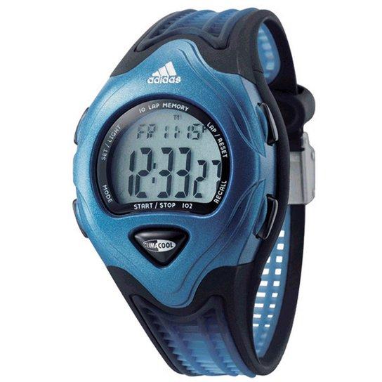 a371ec4862a Relógio Digital Adidas WA48052 - Azul e Preto - Compre Agora