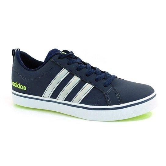 ef5e55938d78f Tênis Adidas Pace Vs - Branco E Preto - 39 - Azul | Netshoes