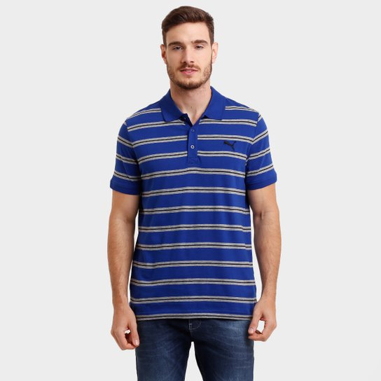 24aa7bf27902 Camisa Polo Puma Fun Stripe Jersey - Compre Agora   Netshoes
