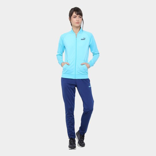 Agasalho Puma Classic Poly Tricot Suit Op Feminino - Compre Agora ... e8106bb8a3cc7