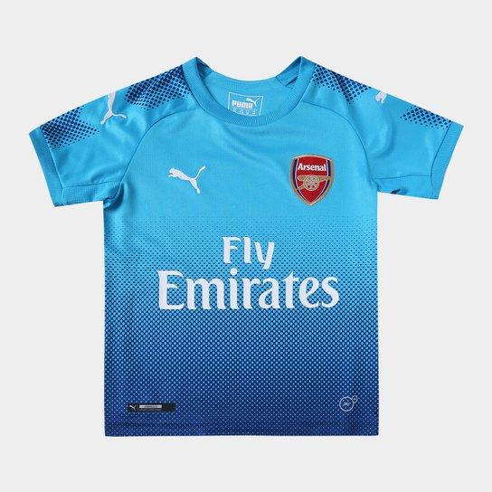 Camisa Arsenal Infantil Away 17 18 s n° Torcedor Puma - Compre Agora ... f9d2a9b7c56b0