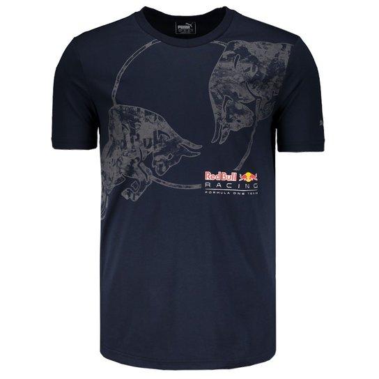 Camiseta Puma Red Bull Racing Escudo - Compre Agora  35fe8e3415c