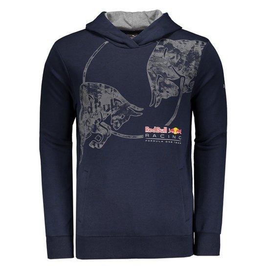 Moletom Puma Red Bull Racing F1 Team Graphic - Azul - Compre Agora ... 491f869cc65