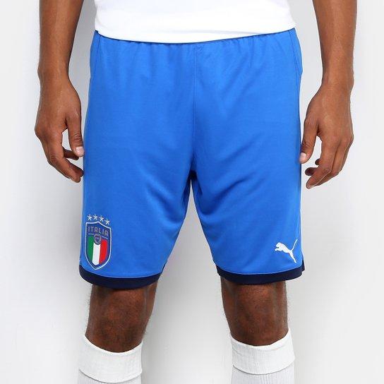 Calção Itália Puma Réplica Masculino - Compre Agora  234456673a7
