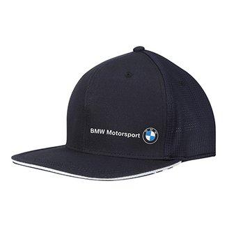 Boné Puma BMW Motorsport Aba Reta Flatbrim 99867685716