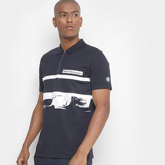 a1a2a76f5c Camisa Polo Puma BMW MS Graphic Masculina