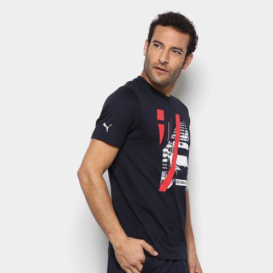 Camiseta Puma BMW MS Graphic Masculina - Compre Agora  fd4a58f2f15