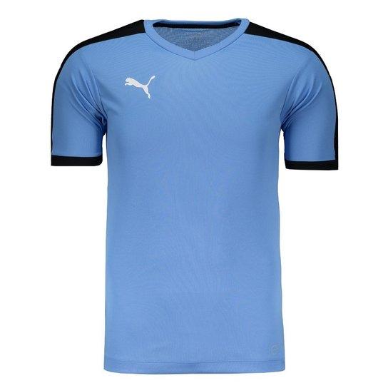 b1a81804fd Camisa Puma Pitch - Azul