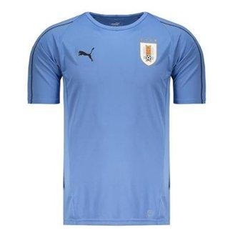 Camisa Puma Uruguai Treino 2018 Masculina 543ed691c4d