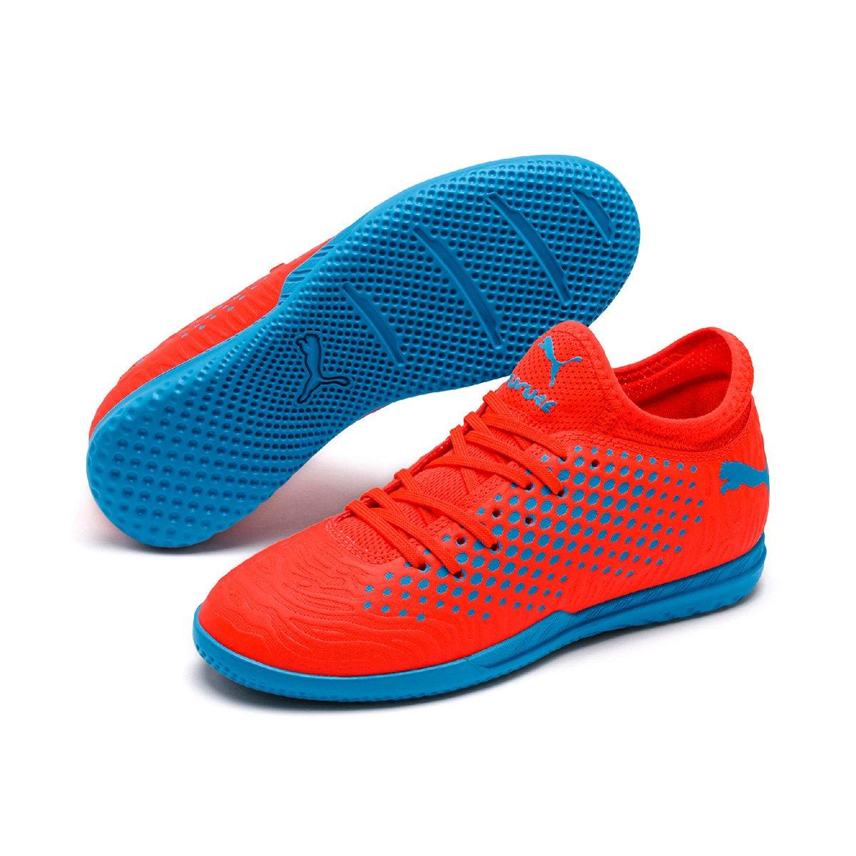 696826db663f2 Chuteira Futsal Infantil Puma Future 19.4 It