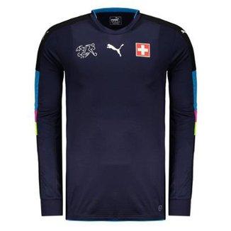 fbfa2ddb05 Compre Camisa de Goleiro da Selecao Italiana Online
