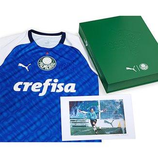 9d0d6126902ab Kit Camisa Palmeiras Marcos 1999 Edição Especial Autografada Torcedor Puma