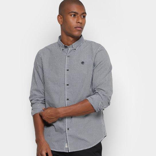 8f556345 Camisa Xadrez Timberland Rattle Ginghm Masculina - Compre Agora ...