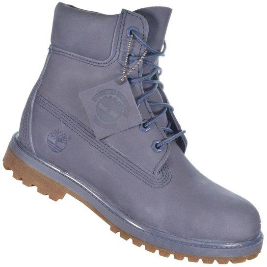 315232faf94 Bota Timberland Yellow Boot 6 W - Azul - Compre Agora