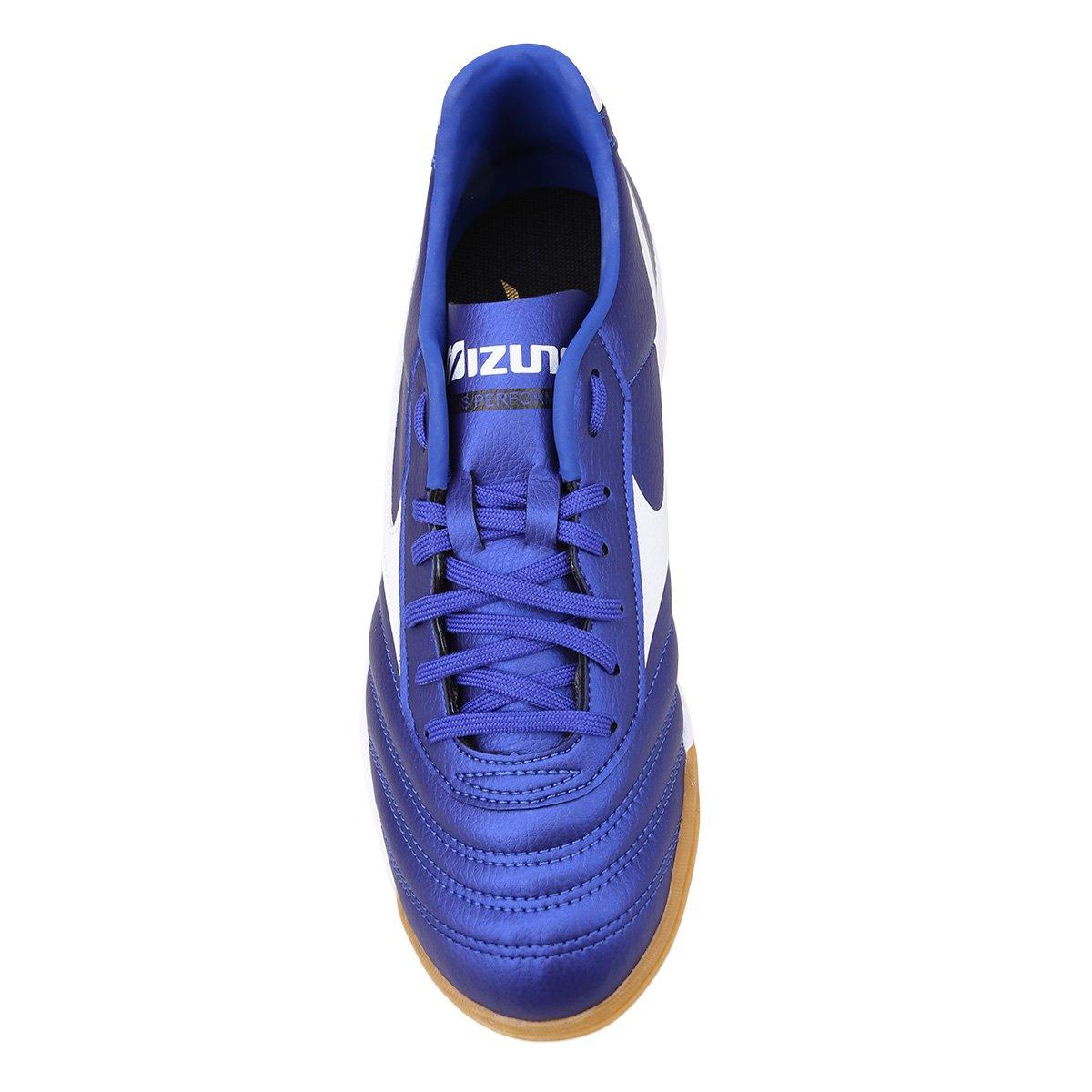 b94cc9802b95a Chuteira Futsal Mizuno Morelia Classic IN P - Tam: 43 - Shopping ...