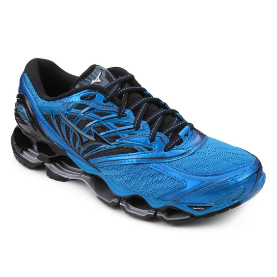 8b124e3d4b904 Tenis Mizuno Wave Prophecy 8 Masculino - Azul - Compre Agora