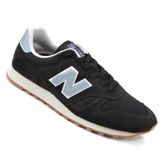 04b227df15b15 Tênis New Balance 373 Core Masculino - Azul e Preto | Netshoes