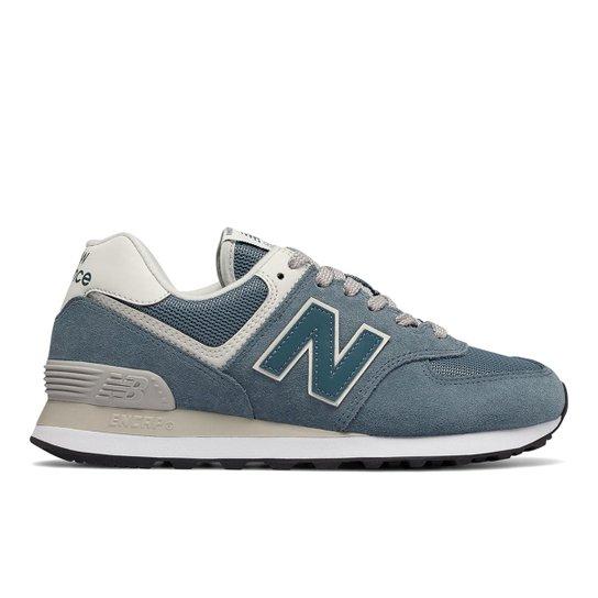 8da05ea2764 Tênis New Balance 574 Casual Feminino - Azul - Compre Agora