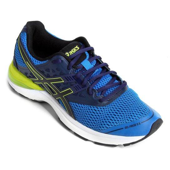 fa7b5d3499863 Tênis Asics Gel-Pulse 9 A Masculino - Azul e Preto | Netshoes