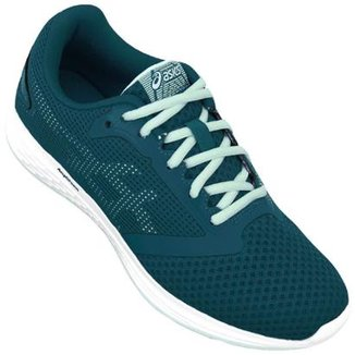 Compre Tenis Asics Feminino Azul Online  86ba1d0df3b57