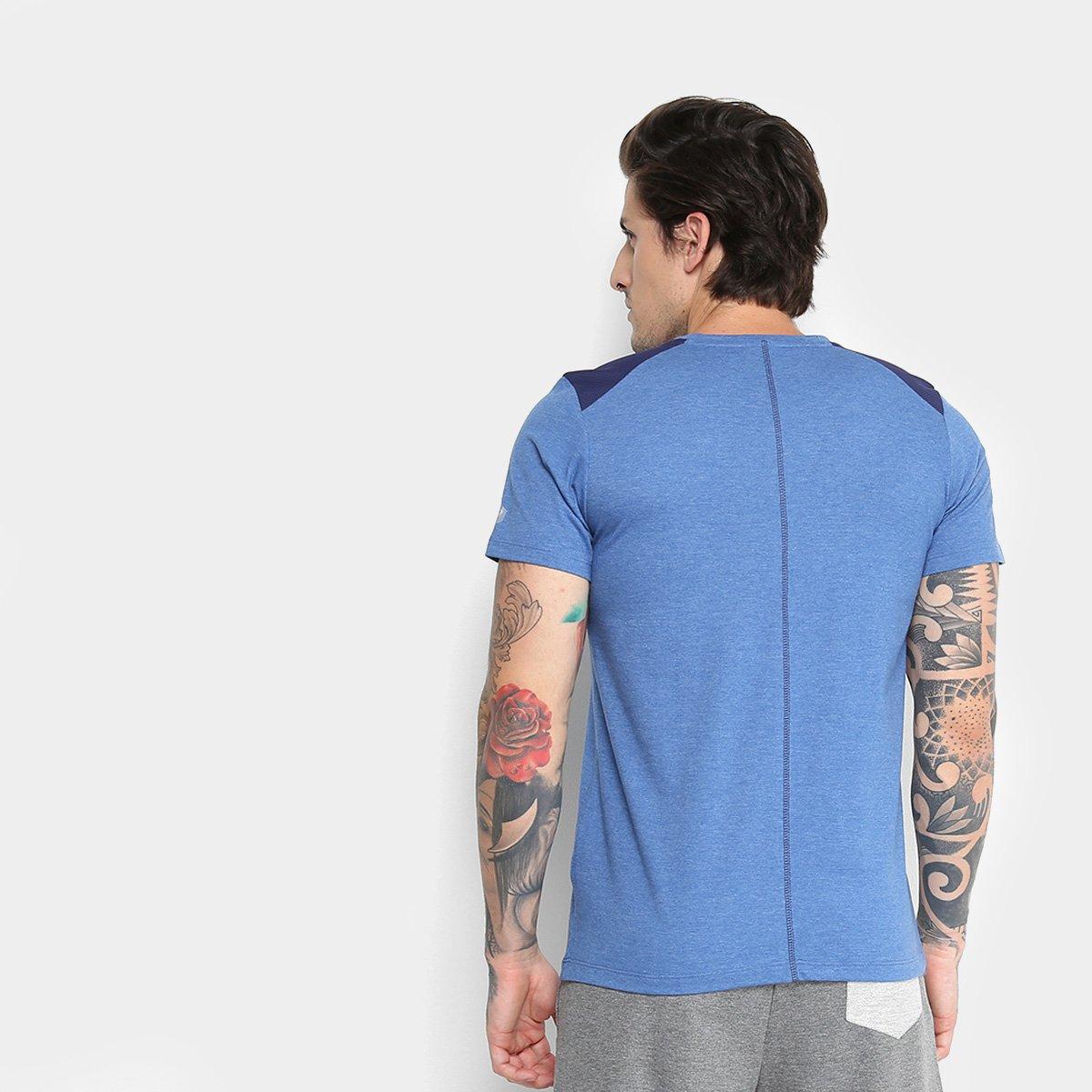 Camiseta Asics Workout Spiral SS Masculina - 1