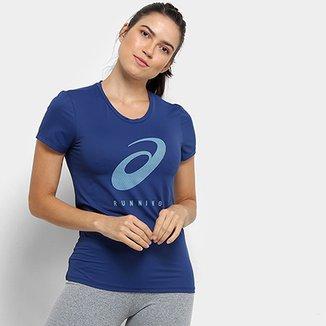 ec14c0b64fe0c Camiseta Asics Core Running Pa Ss Spiral Tee Feminina