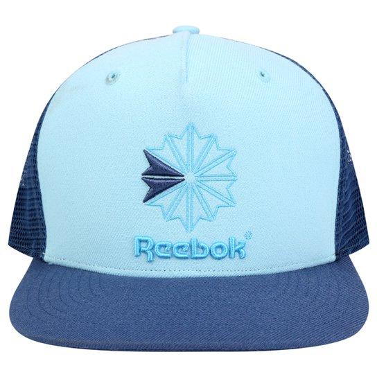 0e7a768ced248 Boné Reebok Fashion Graphic - Azul Petróleo+Azul Claro
