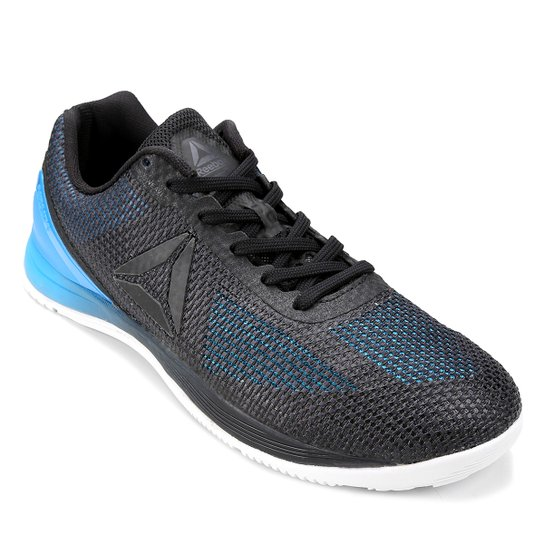 6f7a496ee86 Tênis Reebok Crossfit Nano 7.0 Masculino - Azul e Preto - Compre ...