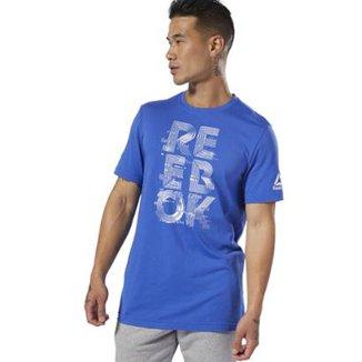 0b379337900 Camisetas Reebok com os melhores preços