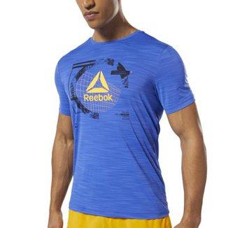 0c35fa445e5 Camiseta Reebok Wor Activchill Grap Masculina