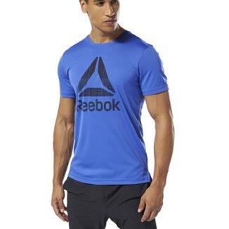 80c13a83991 Camiseta Reebok Wor Tech Top Graph Masculina