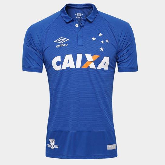 8353169b0e Camisa Cruzeiro I 2016 s nº Torcedor Umbro Masculina - Compre Agora ...