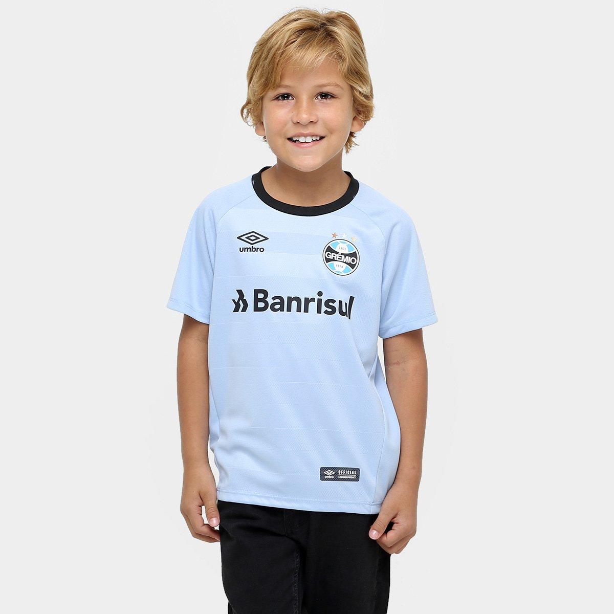 Camisa Grêmio Infantil II 17 18 nº 10 Torcedor Umbro 73ab4c52992b4