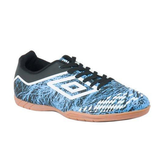 2f67928f82 Tênis De Futsal Indoor Grass Ii - Umbro - Azul+Preto