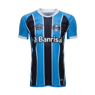 cda5639c30 Camisa Oficial Umbro Grêmio OF I 2017 Masculina 715747
