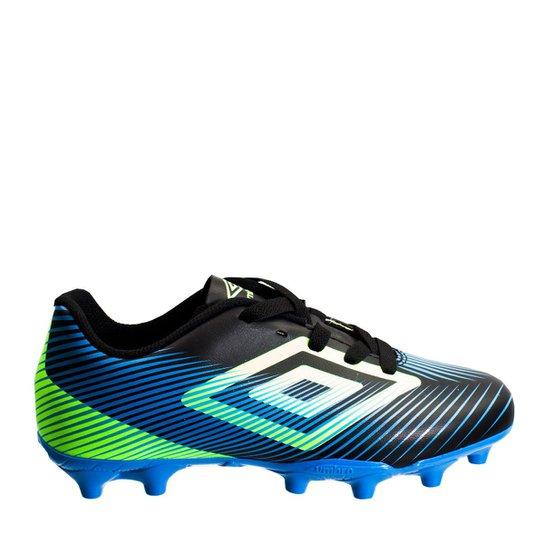 ba6976dfb2 Chuteira Infantil Futebol de Campo Umbro Speed II JR 0f80014 - Azul