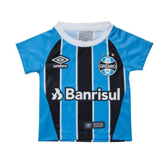 1ed74e9e10 Camisa Oficial Umbro Grêmio 2017 Infantil 715774 - Compre Agora ...