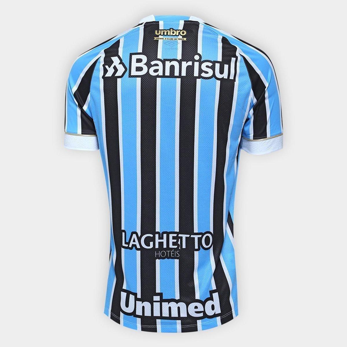 a59a8e7a0 Camisa Grêmio I 18 19 S N° Jogador Umbro Masculina