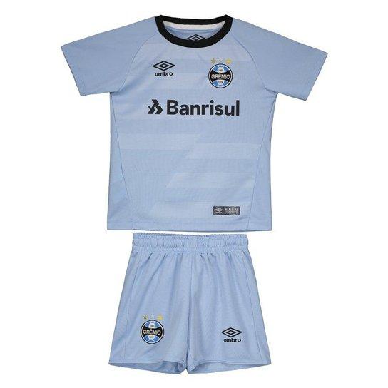 5d6a1a1234 Kit Infantil Umbro Grêmio II 2017 N° 10 - Compre Agora