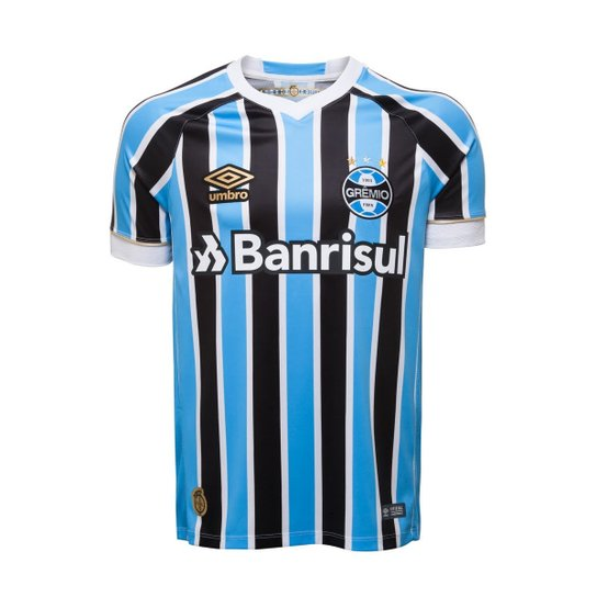 Camisa Oficial Masculina Umbro Grêmio OF 1 2018 - Compre Agora ... 431633499369b