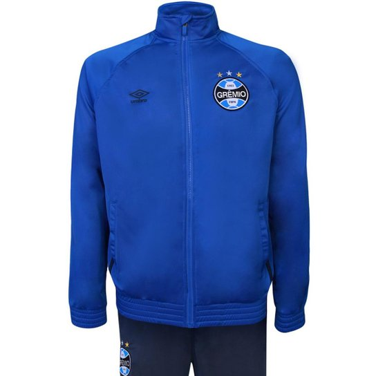7ddef9e95c Agasalho Umbro Masculino Grêmio Viagem - Azul - Compre Agora