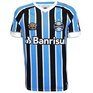 16b3c9f5acd9c Camisa Umbro Masculina Grêmio Oficial I 2018 Game