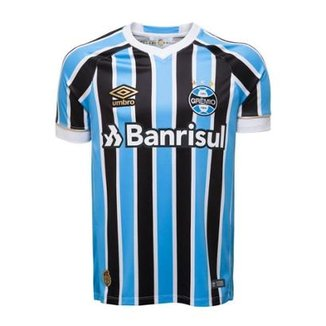 9cbfad8028313 Camisa Umbro Masculina Grêmio Oficial I 2018 Torcedor Nº 7