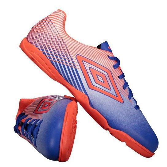 65379262fa Chuteira Umbro Slice III Futsal Masculina - Azul - Compre Agora ...
