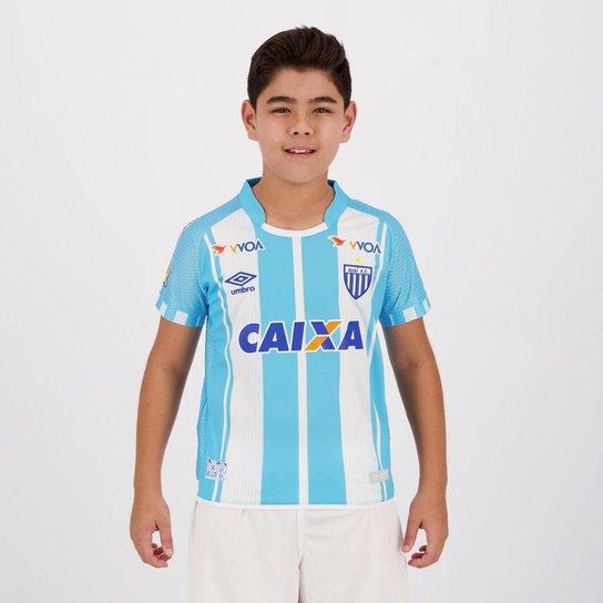 Camisa Umbro Avaí I 2017 Juvenil - Azul - Compre Agora  71d56fce9133c